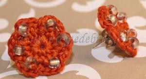 crochet, handmade, homemade, crafts, jewelry, crochet earrings, crochet jewelry,